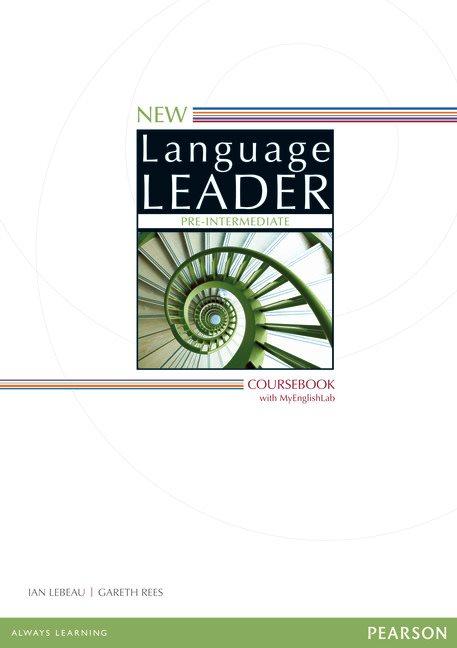 New Language Leader Pre-Intermediate Coursebook with MyEnglishLab