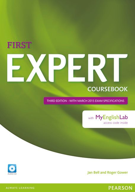 Expert First Coursebook with MyEnglishLab