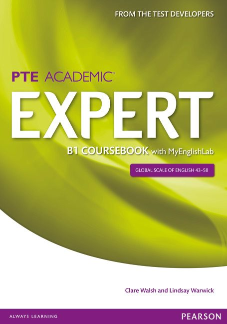 PTE Academic Expert B1 Student Book with MyEnglishLab