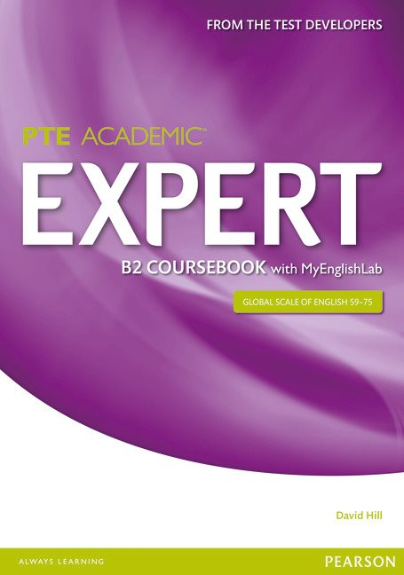 PTE Academic Expert B2 Student Book with MyEnglishLab