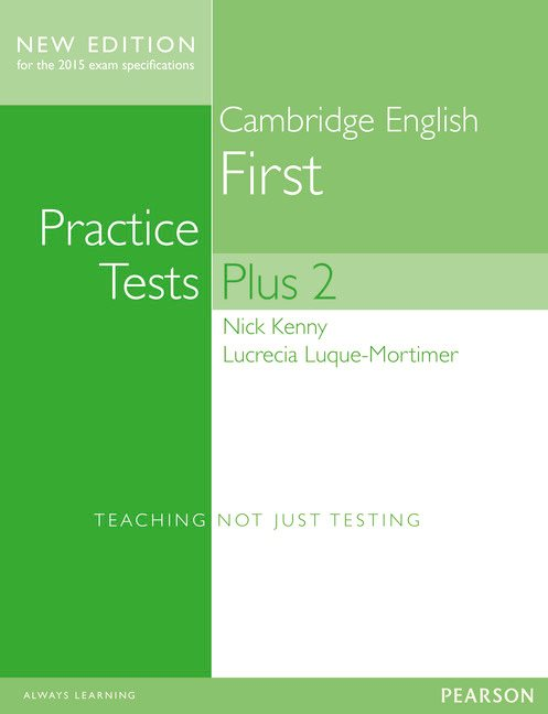Cambridge English First Practice Tests Plus 2 without Key