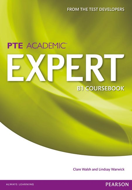 Pearson Test of English Academic B1 Expert Coursebook
