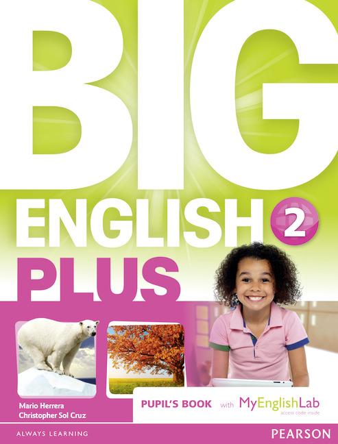 Big English Plus 2 Student Book with MyEnglishLab