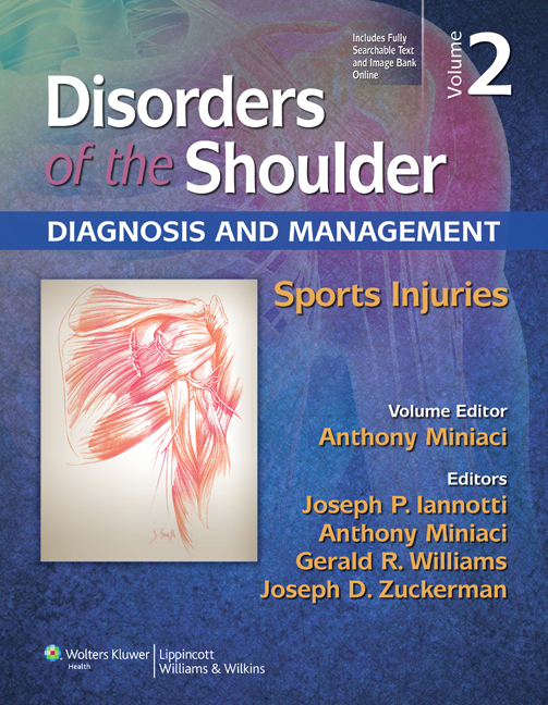 Disorders of the Shoulder: Sports Injuries