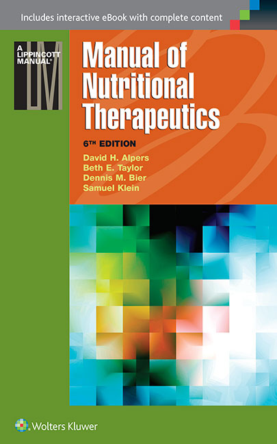 Manual of Nutritional Therapeutics - Lippincott Manual Series (Formerly known as the Spiral Manual Series)