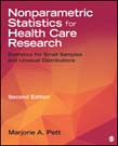 Nonparametric Statistics in Health Care Research: Statistics for Small Samples and Unusual Distributions 2ed