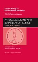 Patient Safety in Rehabilitation Medicine Vol 23-2