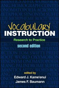 Vocabulary Instruction, Second Edition