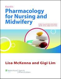 Porth's Pathophysiology / Nursing Pharmacology / ANZ Drug Handbook / Pharmacology MIE