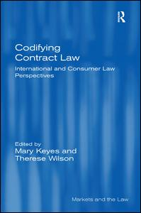 Codifying Contract Law