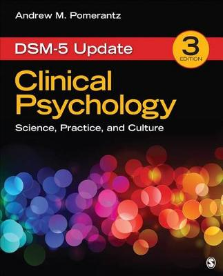 Clinical Psychology: Science, Practice, and Culture: DSM-5 Update