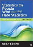 Statistics for People Who (Think They) Hate Statistics: Using Microsoft Excel 2016 4ed
