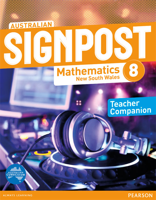Australian Signpost Mathematics New South Wales 8 Teacher Companion