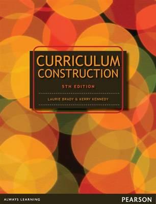 Curriculum Construction