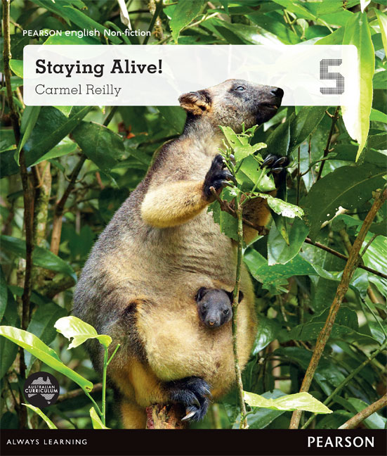 Pearson English Year 5: Adapt and Survive! - Staying Alive (Reading Level 29-30+/F&P Level T-V)