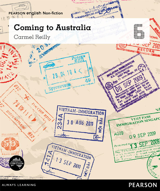 Pearson English Year 6: You, Me, Us - Coming to Australia (Reading Level 30++/F&P Level W-Y)