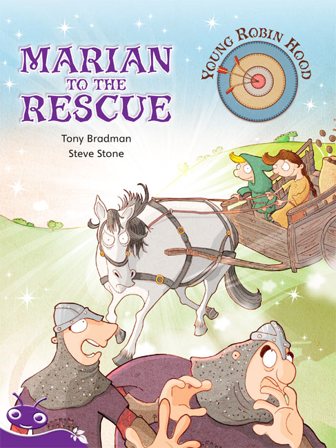 Bug Club Level 19 - Purple: Young Robin Hood - Marian to the Rescue (Reading Level 19/F&P Level K)