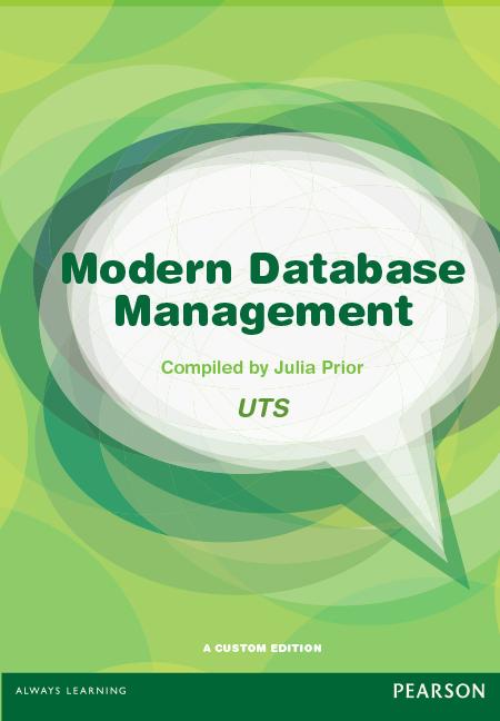 Modern Database Management (Custom Edition)