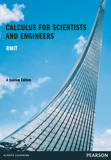 Calculus For Scientists & Engineers (Custom Edition)