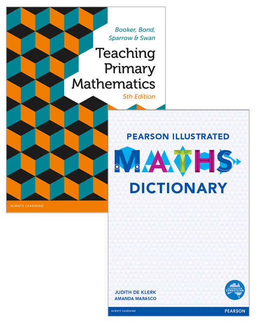 Teaching Primary Mathematics + Pearson Illustrated Maths Dictionary