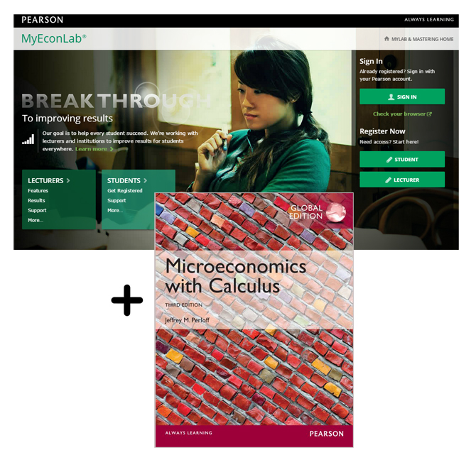 Value Pack Microeconomics with Calculus Global Edition + MyEconLab