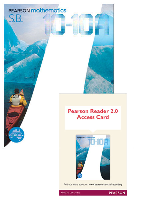 Pearson Mathematics 10-10A Reader 2.0/Student Book Bundle
