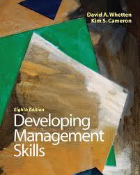 Developing Management Skills + MyManagementLab (Global Ed.) Whetton & Cameron
