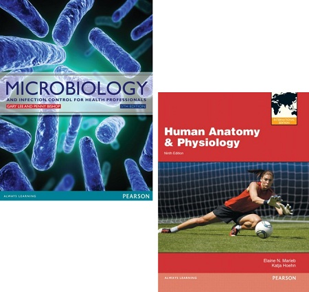 Human Anatomy & Physiology 9e + Mastering A&P+ Microbiology 5e pack