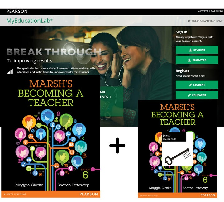 Marsh's Becoming a Teacher + MyLab Education with eText
