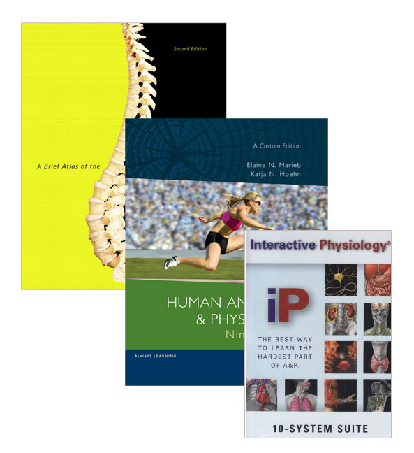 Human Anatomy & Physiology (Custom Edition) + A Brief Atlas of the Human Body + Interactive Physiology 10-System Suite CD-ROM