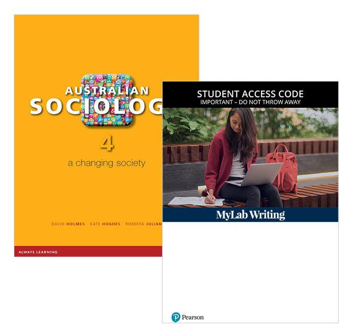 Australian Sociology: A Changing Society + MyLab Writing