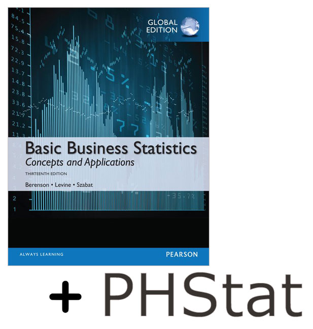 Basic Business Statistics, Global Edition + PHStat Access Kit