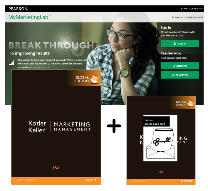 Marketing Management, Global Edition + MyLab Marketing with eText