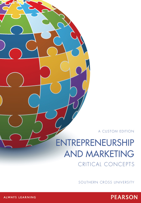 Entrepreneurship and Marketing: Critical Concepts (Custom Edition)
