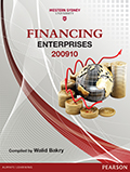 Financing Enterprises 200910 (Custom Edition)