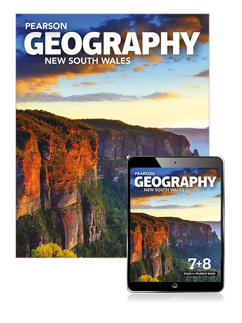 Pearson Geography New South Wales Stage 4 Student Book with eBook