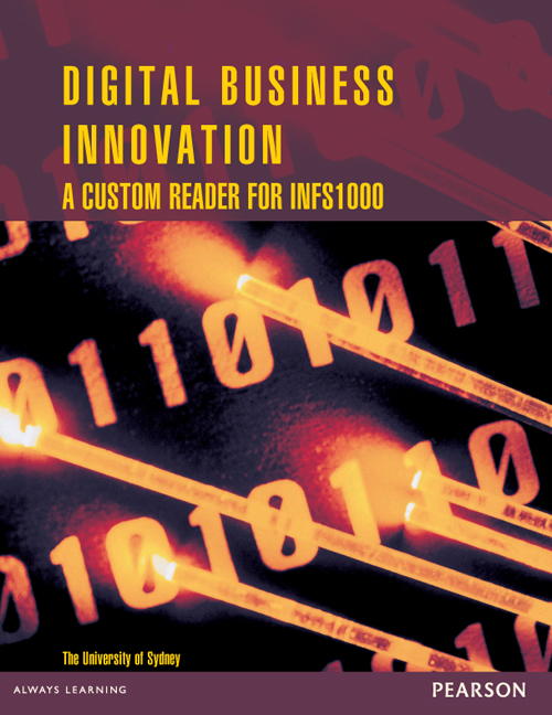 Digital Business Innovation: A Custom Reader for INFS1000