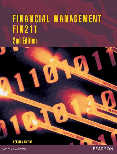 Financial Management FIN211 (Custom Edition)