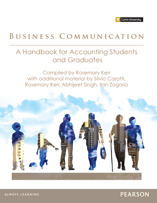 Business Communication: A Handbook for Accounting Students and Graduates (Custom Edition)