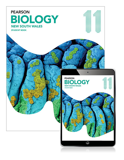 Pearson Biology 11 New South Wales Student Book with eBook