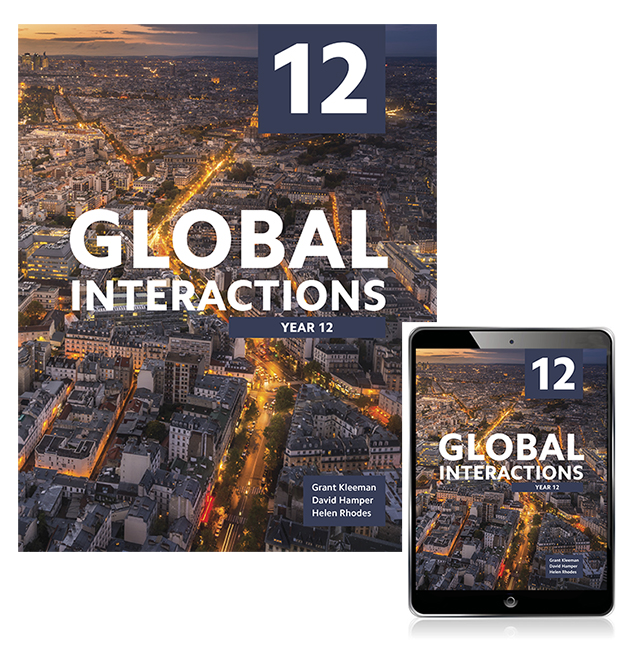 Global Interactions Year 12 Student Book with eBook
