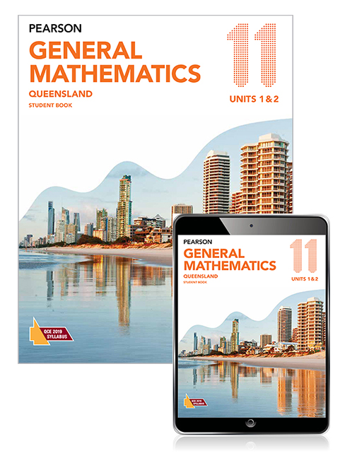 Pearson General Mathematics Queensland 11 Student Book with eBook