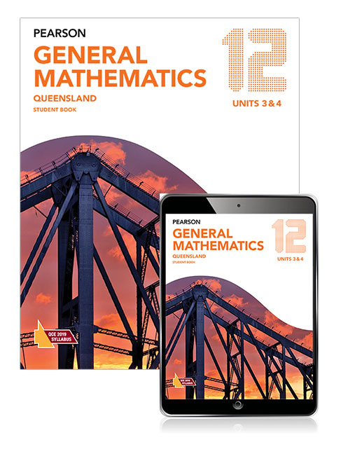 Pearson General Mathematics Queensland 12 Student Book with eBook