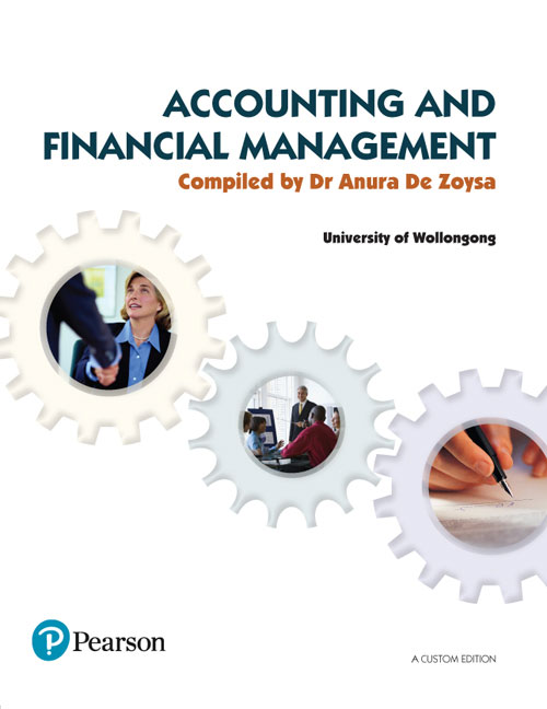 Accounting and Financial Management (Custom Edition)