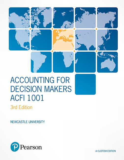 Accounting for Decision Makers ACFI1001 (Custom Edition)
