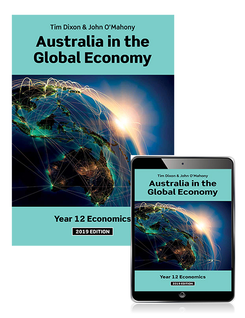 Australia in the Global Economy 2019 Student Book with eBook