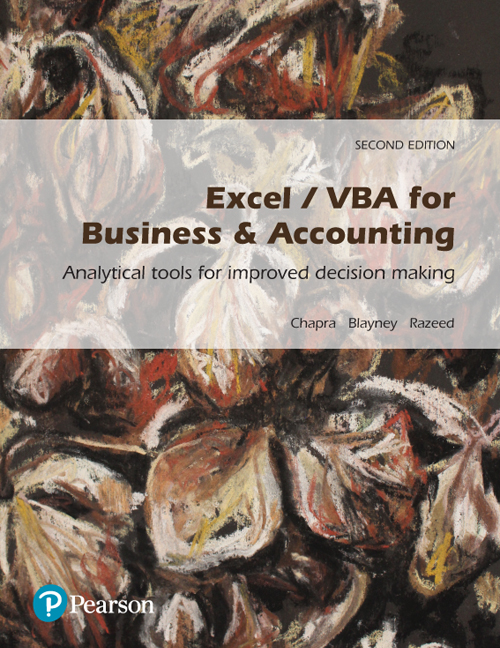 Excel / VBA for Business & Accounting (Pearson Original Edition)