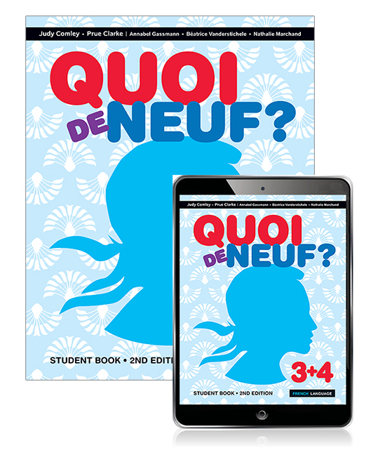 Quoi de Neuf ? 3+4 Student Book with eBook
