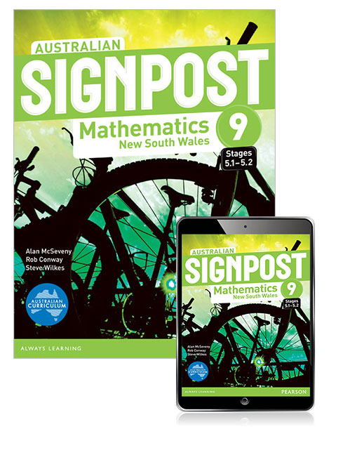 Australian Signpost Mathematics New South Wales 9 (5.1-5.2) Student Book with eBook