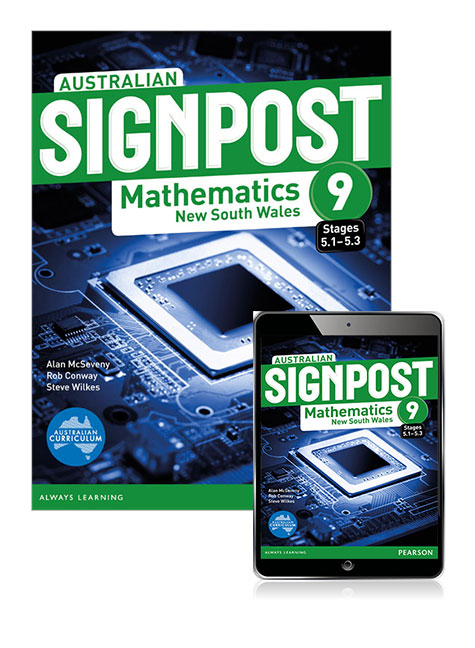 Australian Signpost Mathematics New South Wales 9 (5.1-5.3) Student Book with eBook